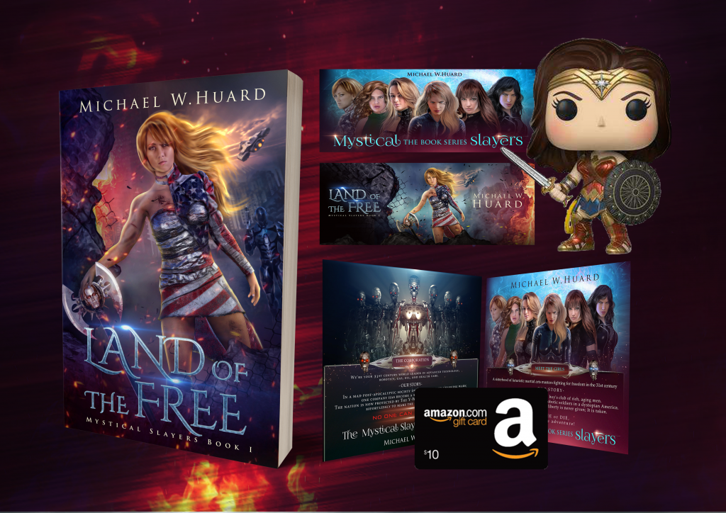 Release blitz land of the free by michael w huard for Free land 2017